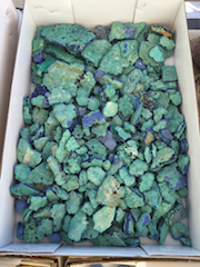 Blue-green cutting material